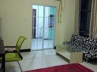 江南之星精装单身公寓带外阳台租金1300