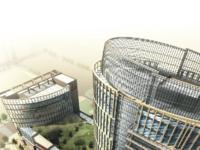政务核心区 天都大厦 甲级写字楼 精装朝南户型出租