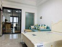 景徽国际精装公寓出租,全新装修,家具家电全齐,拎包入住。有钥匙随时看房。