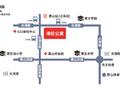 海伦公寓交通图