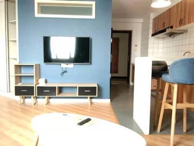 御景佳苑全新装修精装公寓出租,可以短租,看房方便