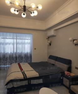 天域 景徽国际 精装公寓 拎包入住。