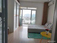 景徽国际精装修单身公寓,带独立阳台,实景照片,有钥匙,看房方便