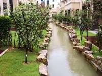 新安兰亭高端联排别墅,有天有地有庭院,255平毛坯,赠送地下负一层,售425万