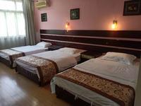 申江之星酒店、三人间出租、电脑及床上用品全配