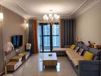 恒大滨江左岸,电梯最 好楼层,精装房拎包即住,小区环境优美,月租金1800元