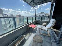 出售江南一品江景超多阳台电梯复式,平层没有斜角,边套景观房