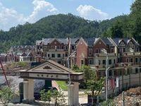 花山郡别墅区,人生须有一墅,藏在山水间,安在清风里107万起院子大的可以建游泳池