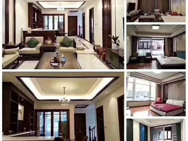 市中心高端别墅小区置地栢悦府,全新豪华装修,售价750万
