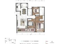 城东片区金瓯徽府,124平150万 ,三房二厅二卫,户型方正