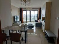 出租 恒大滨江左岸,电梯精装三房,拎包即能住,月租金2100元