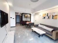 翡翠滨江精装2室2厅1卫 可短租 家具家电齐全 配套完善 随时看房 拎包入住