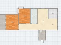 怡阳花园大两房,送入户,朝南无遮挡,看房方便有钥匙,业主诚心出售