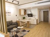 栢悦居 高端公寓楼 77平1室1厅1厨1卫 精装修 家具家电齐全 拎包即可入住