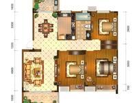 东方丽景禧园,毛坯三室两厅一卫,多层视野开阔,看房有钥匙