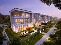 新区 一中旁 青云丹霞城 品质小区 叠墅 联排 别墅 未来的CBD看房方便