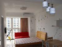 岸上蓝山 精装修公寓 1100元包物业 家具家电齐全 生活配套完善 拎包即可入住