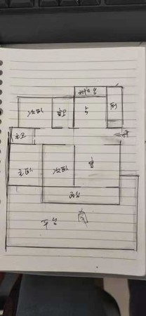 出售山田东园3室2厅2卫带60多平的朝南大露台