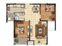 阳湖颐和观邸 电梯好楼层 中等装修2室2厅 满二年 税少