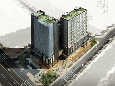 市中心熙城国际单身公寓,70年产权,地理位置优越,生活方便,直接拎包入住,满2年