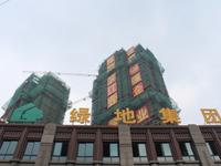 五中、绿地滨江一号、黄金楼层、有钥匙随时看房、视野非常开阔